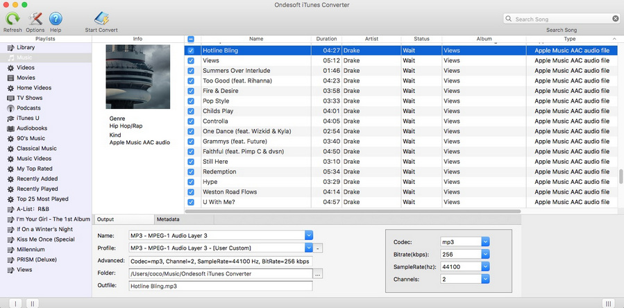 How to Convert Apple Music M4P Songs to AAC