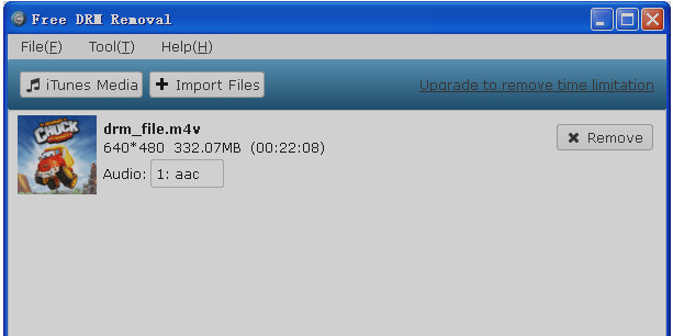 TOP 3 DRM REMOVAL FREEWARE